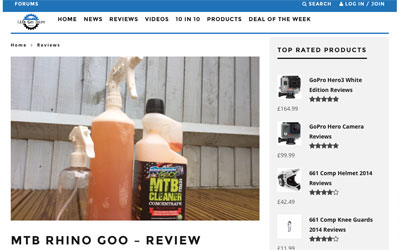Rhino Goo Review Life on Bars