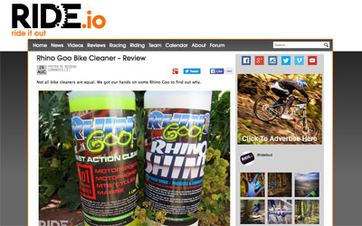 Rhino  Goo Review Ride it out